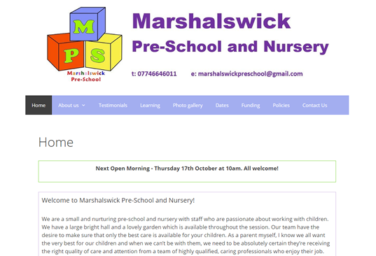 marshalswickpreschool.co.uk