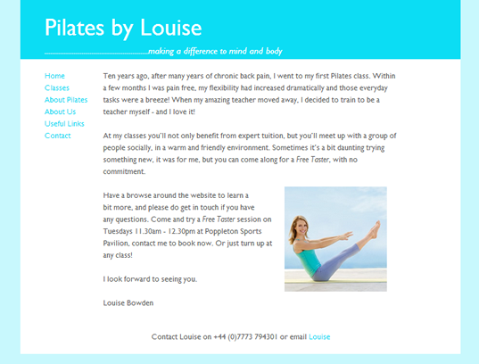 pilatesbylouise.co.uk